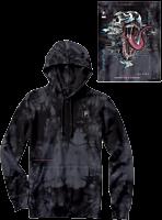 Marvel - Paul Jackson x Primitive Venom Washed Black Sweatshirt Hoodie
