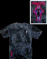 Dragon Ball Super - Dragon Ball x Primitive Goku Black Rose Washed Black T-Shirt