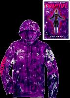 Dragon Ball Super - Dragon Ball x Primitive Goku Black Rose Washed Purple Sweatshirt Hoodie