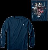 Marvel - Paul Jackson x Primitive Venom Harbor Blue Long Sleeve T-Shirt