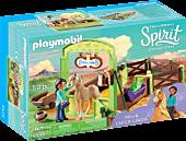 Spirit Riding Free - Playmobil Pru and Chica Linda Playset (9479)