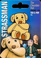 David Strassman: The Chocolate Diet - Ted E. Paw Enamel Pin