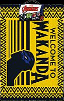Black Panther - Welcome to Wakanda Doormat