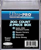 Ultra Pro - Plastic Box 200 Count