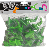 All City Breakers - 2 Vinyl 20-Pack Electric Green 1