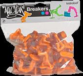All City Breakers - 2 Vinyl 20-Pack Electric Orange 1