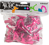 All City Breakers - 2 Vinyl 20-Pack Electric Pink 1