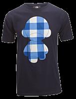 Kidrobot - T-Shirt Munny Blue Check Male Navy 1