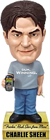 Charlie Sheen - Charlie Talking Wacky Wobbler (Bobble Head)