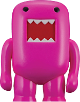 Domo - Black Light 4 Vinyl Figure Pink