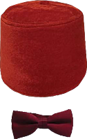 Doctor Who - Bow Tie And Fez Set