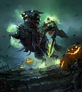World Of Warcraft - Headless Horseman Card Sleeves (Pack of 80)