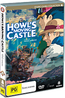 Howl&#39s Moving Castle - The Movie DVD (2-Disc)