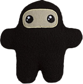 Shawnimals - Pocket Ninja (Wee) 4 Plush