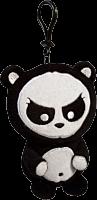 Angry Panda - Clip On Plush 1