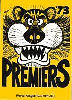 WEG - Richmond 1973 AFL Card Set