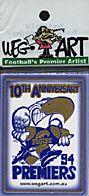 AFL - WEG West Coast 1994 AFL Card Set (Foil)