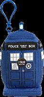 """Doctor Who - TARDIS 4"""" Mini Clip-On Talking Plush"""