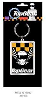 Top Gear - The Stig Metal Keychain Yellow & Black