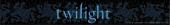 Twilight - Logo Slap Bracelet