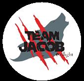 Twilight - Team Jacob Clear Vinyl Sticker