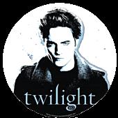 Twilight - Edward Cullen Clear Vinyl Sticker (Style C)