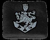 Twilight - Terry Cloth Blue Crest Wristband