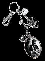 Twilight - Edward and Bella Image Charm Key Ring/Bag Clip