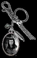 Twilight - Jacob Black Image Charm Key Ring/Bag Clip