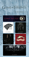 Game Of Thrones - Magnet Set A (Set of 7)