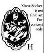 Twilight - Sticker H - Cullen Crest
