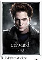 Twilight - Sticker D - Edward Cullen