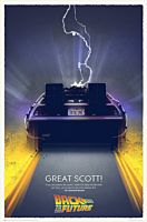 "Back To The Future - Great Scott Art Print 27"" x 40"""