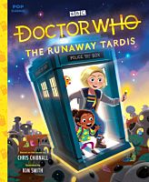 QUI69184-Doctor-Who-The-Runaway-Tardis-Pop-Classics-Illustrated-Storybook-Hardcover-Book-01