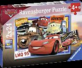 Cars - Disney Two Cars 2x24 Piece Jigsaw Puzzle