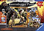 Dragons - Dragon Rider 3x49 Piece Jigsaw Puzzle