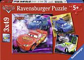 Cars - Disney Cars 3x49 Piece Jigsaw Puzzle