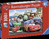 Cars - Disney Explosive Racing XXL 100 Piece Jigsaw Puzzle