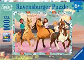 Spirit Riding Free - Lucky and her Friends XXL 100 Piece Jigsaw Puzzle