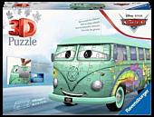 "Cars - Volkswagen T1 12"" 3D Jigsaw Puzzle (162 Pieces)"