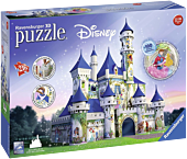 """Disney - Princess Castle 11"""" 3D Jigsaw Puzzle (216 Pieces)"""