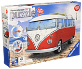 "Volkswagen - VW Kombi Bus 12"" 3D Jigsaw Puzzle (162 Pieces)"