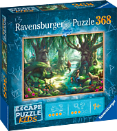 Escape Puzzle: Kids - Whispering Woods Puzzle 368 Piece Jigsaw Puzzle