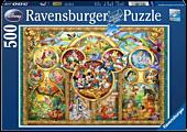 Disney - Disney Family 500 Piece Jigsaw Puzzle
