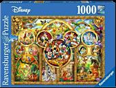 Disney - The Best Disney Themes 1000 Piece Jigsaw Puzzle