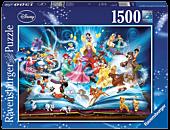 Disney - Magical Storybook 1500 Piece Jigsaw Puzzle