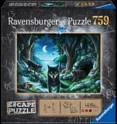 Escape Puzzle - The Curses of the Wolves 759 Piece Jigsaw Puzzle