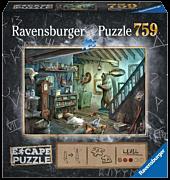 Escape Puzzle - The Forbidden Basement 759 Piece Jigsaw Puzzle
