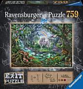 Escape Puzzle - The Unicorn 759 Piece Jigsaw Puzzle