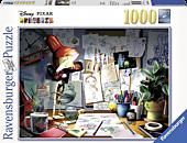 Disney - Disney Pixar: The Artist's Desk 1000 Piece Jigsaw Puzzle